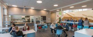 Classroom lighting image