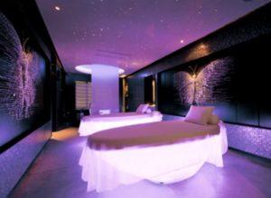 W Bangkok Hotel soft lighting